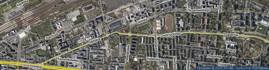 Zdjęcie satelitarne Stanisławowska ul.