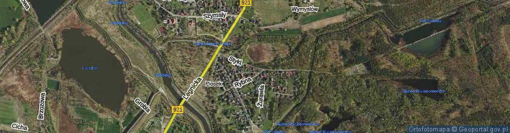 Zdjęcie satelitarne Styki Jana ul.