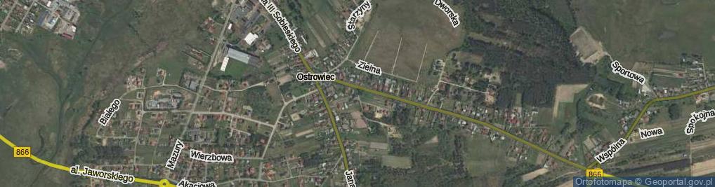 Zdjęcie satelitarne Sudel ul.