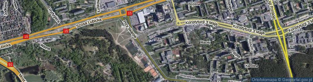 Zdjęcie satelitarne Suleckiego Jakuba ul.