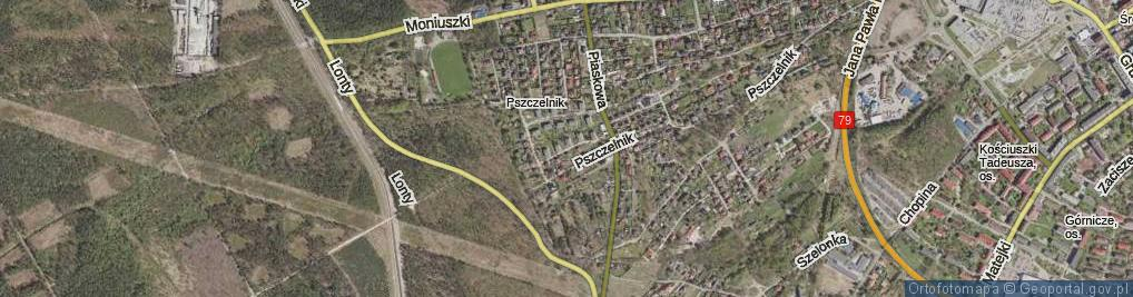 Zdjęcie satelitarne Świerkowa ul.