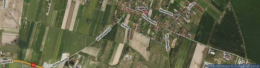 Zdjęcie satelitarne św. Karola ul.