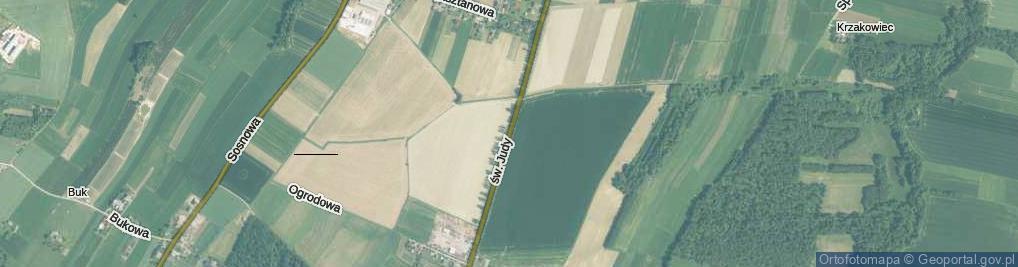 Zdjęcie satelitarne św. Judy Tadeusza ul.
