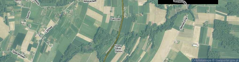 Zdjęcie satelitarne św. Szymona ul.