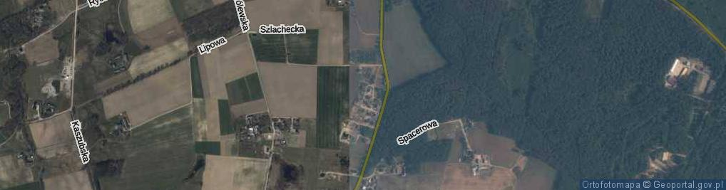 Zdjęcie satelitarne św. Alojzego ul.