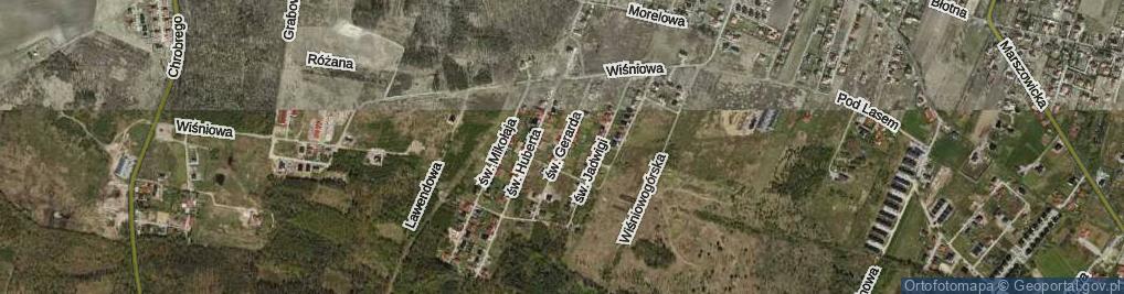 Zdjęcie satelitarne św. Gerarda ul.