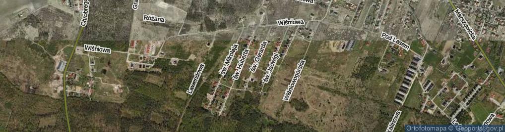 Zdjęcie satelitarne św. Jacka ul.