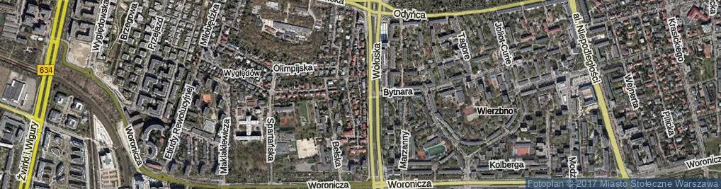Zdjęcie satelitarne Syryńska ul.