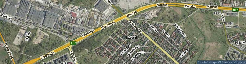 Zdjęcie satelitarne Szewko Stanisława ul.
