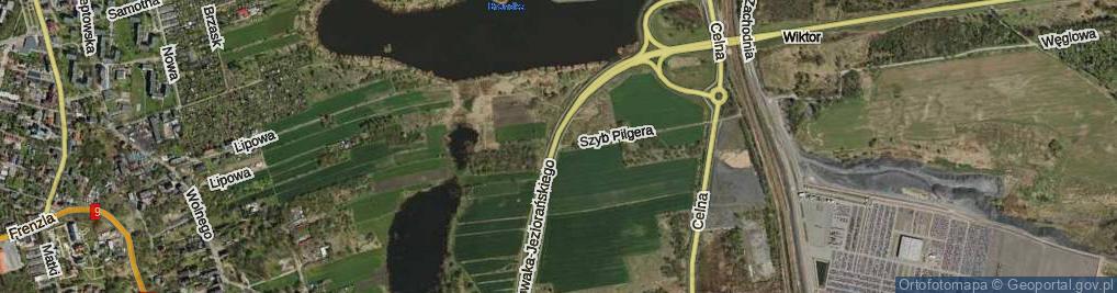 Zdjęcie satelitarne Szyb Pilgera ul.