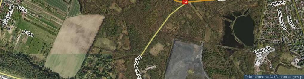 Zdjęcie satelitarne Szyb Zachodni ul.