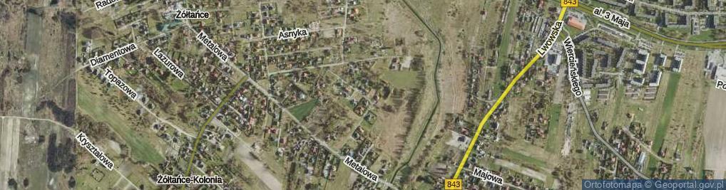 Zdjęcie satelitarne Sztembis Barbary, dr. ul.