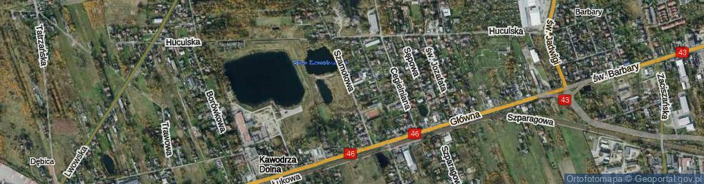 Zdjęcie satelitarne Szamotowa ul.