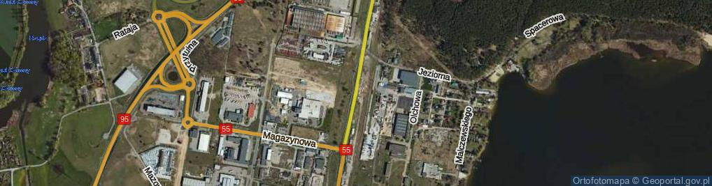 Zdjęcie satelitarne Szosa Toruńska ul.