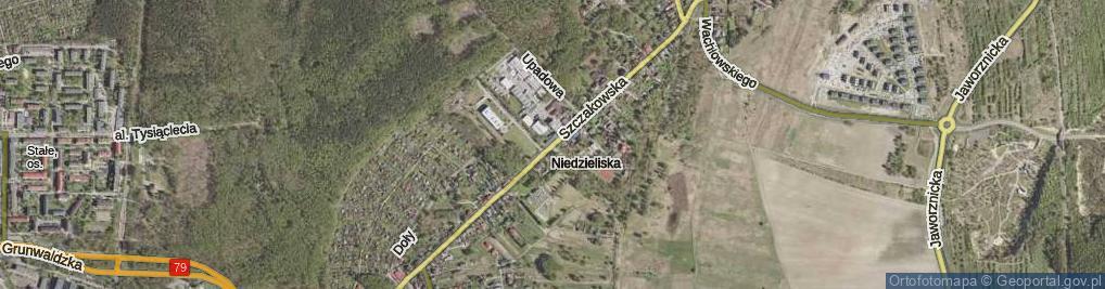 Zdjęcie satelitarne Szczakowska ul.