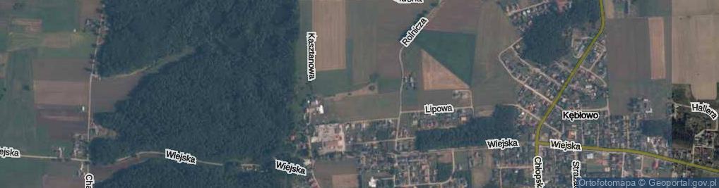 Zdjęcie satelitarne Szendzielarza, mjr. ul.