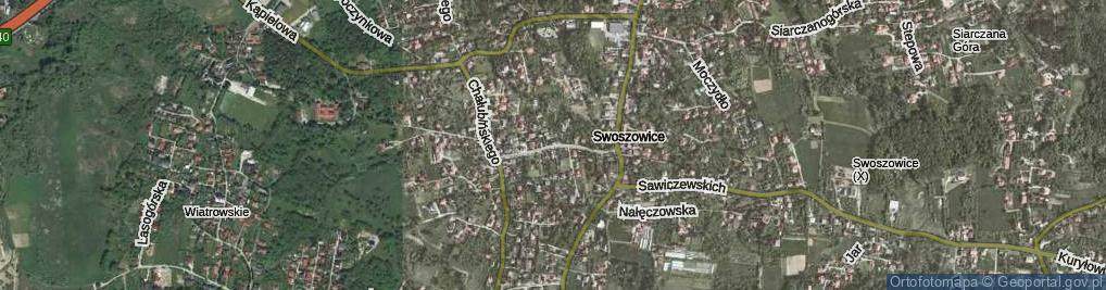 Zdjęcie satelitarne Szybisko ul.