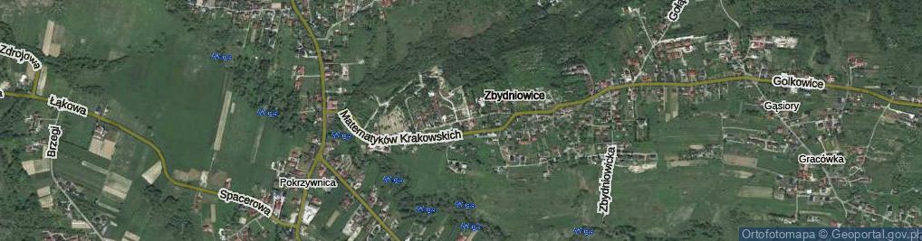 Zdjęcie satelitarne Szarskiego Jacka ul.