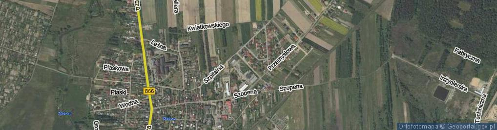 Zdjęcie satelitarne Szymańskiego Henryka, dr. ul.