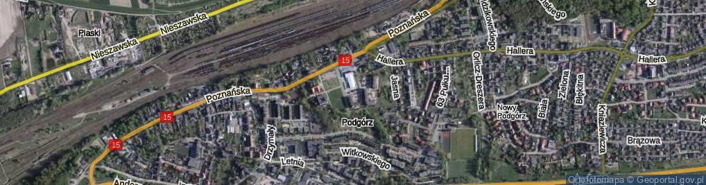 Zdjęcie satelitarne Szyszkowskiego Wacława ul.