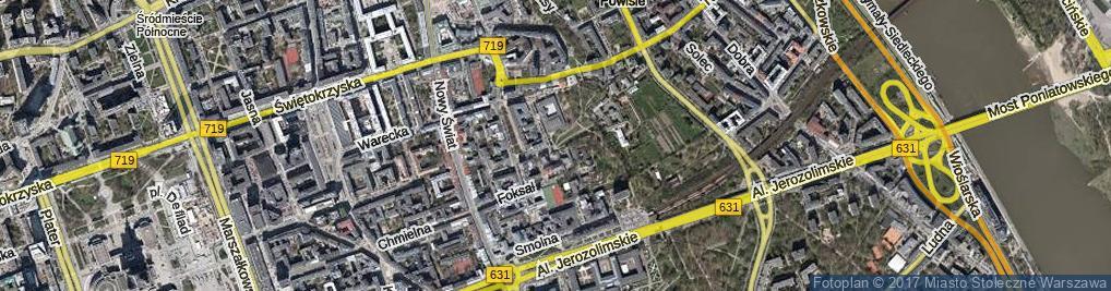 Zdjęcie satelitarne Szczygla ul.