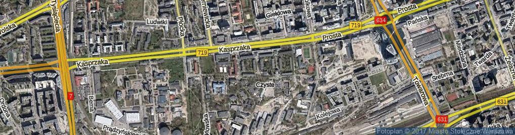 Zdjęcie satelitarne Szymańskiego Edwarda ul.