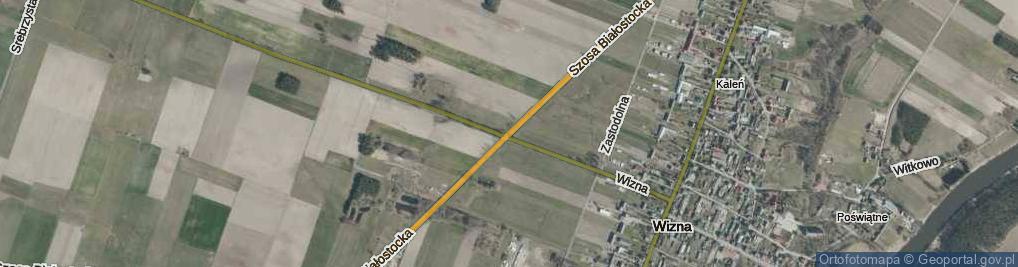 Zdjęcie satelitarne Szosa Białostocka ul.