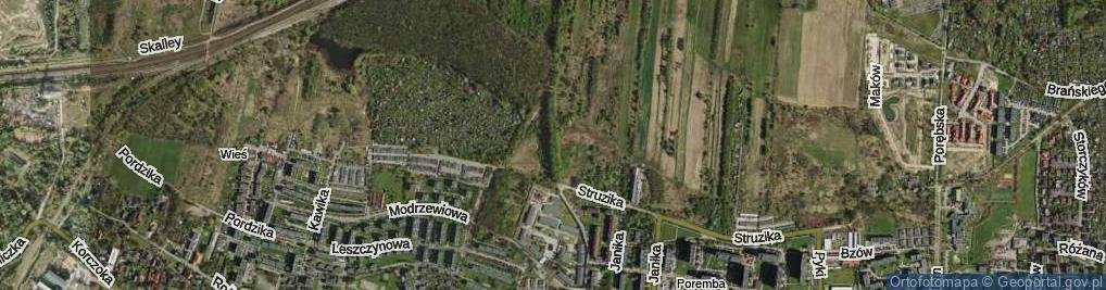 Zdjęcie satelitarne Szyb Jerzy ul.