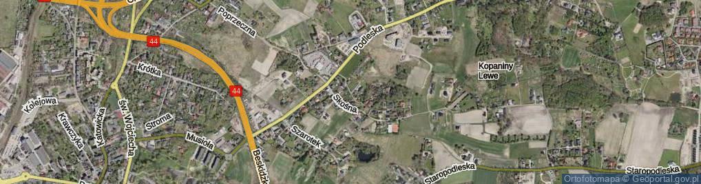Zdjęcie satelitarne Taborowa Kępa ul.
