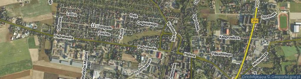 Zdjęcie satelitarne Taczaka Stanisława, gen. ul.