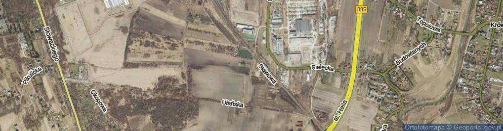 Zdjęcie satelitarne Tarniowa ul.