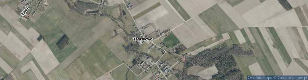 Zdjęcie satelitarne Taraskowo ul.