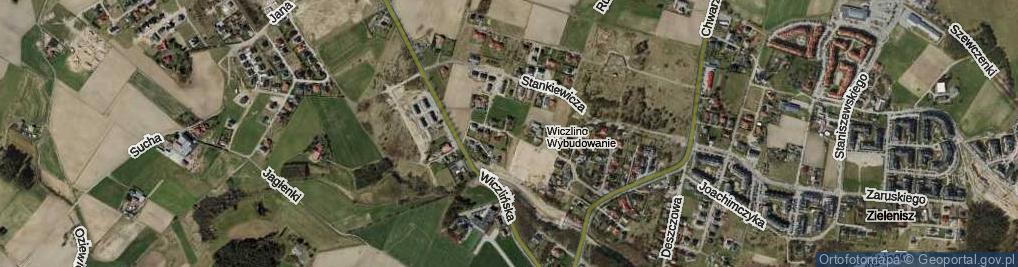 Zdjęcie satelitarne Teligi Leonida, kpt. ul.