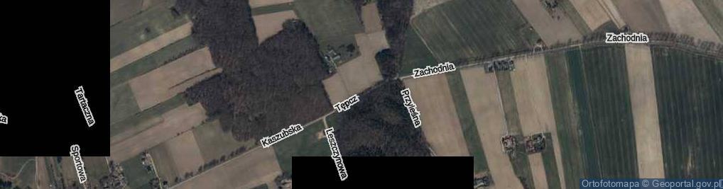 Zdjęcie satelitarne Tępcz ul.