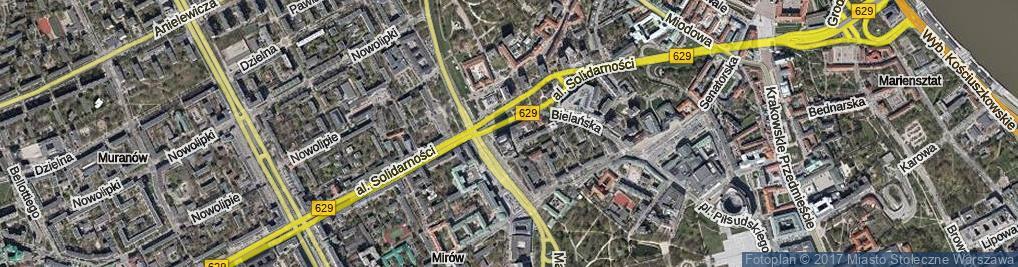 Zdjęcie satelitarne Tłomackie ul.