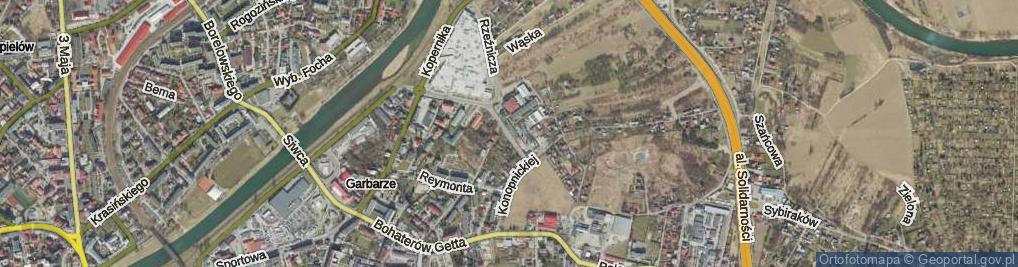 Zdjęcie satelitarne Trentowskiego Bronisława ul.