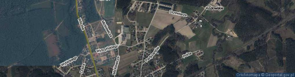 Zdjęcie satelitarne Twardowskiego Jana, ks. ul.