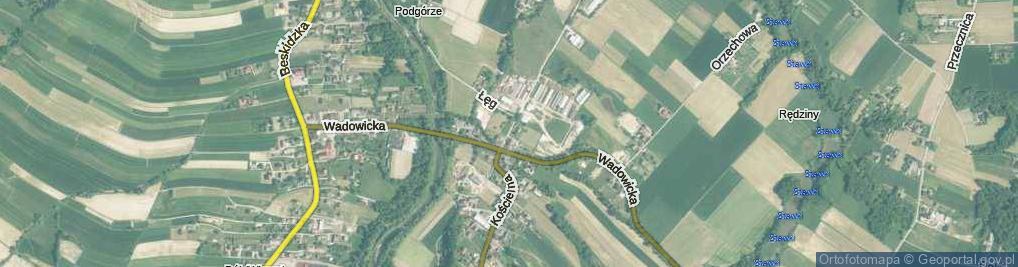 Zdjęcie satelitarne Twierdza ul.