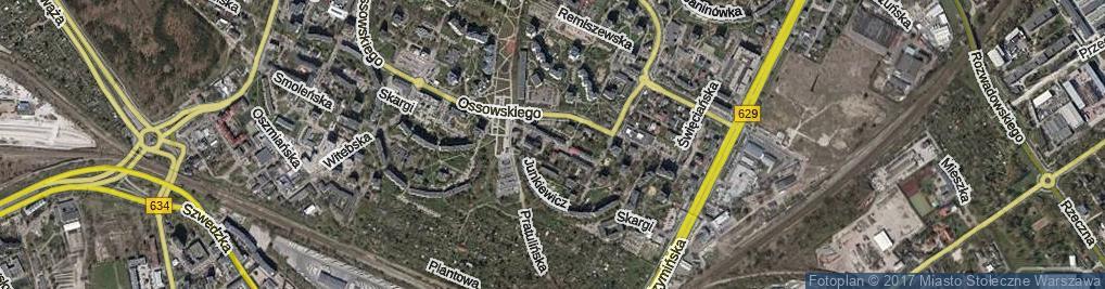 Zdjęcie satelitarne Tykocińska ul.