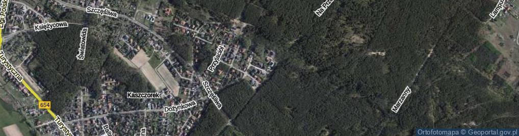 Zdjęcie satelitarne Urocza ul.