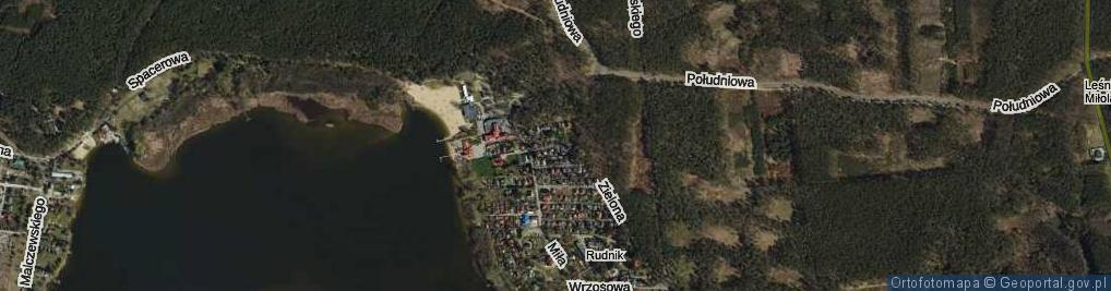 Zdjęcie satelitarne Ustronna ul.