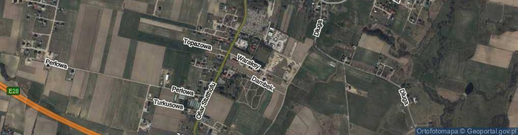 Zdjęcie satelitarne Waraksy Jana ul.