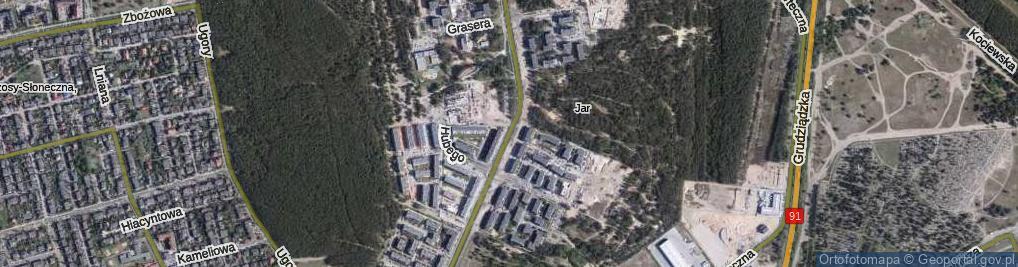 Zdjęcie satelitarne Watzenrodego Łukasza ul.
