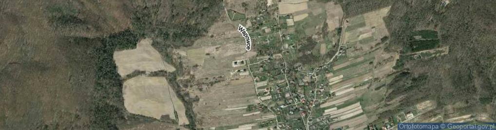 Zdjęcie satelitarne Wapowce ul.