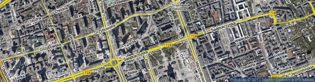 Zdjęcie satelitarne Wallenberga Raoula ul.