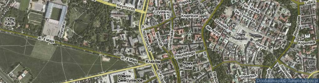 Zdjęcie satelitarne Wenecja ul.