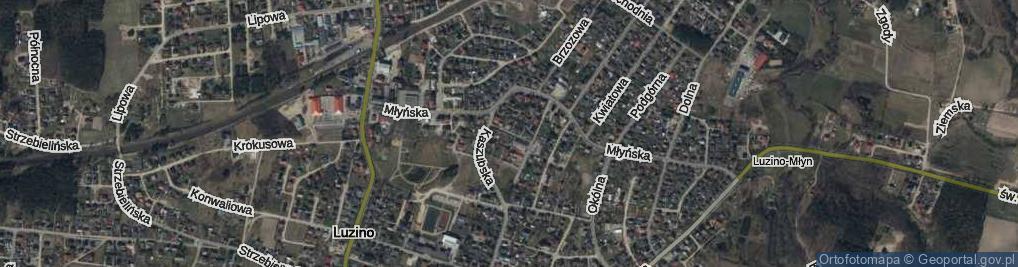 Zdjęcie satelitarne Wejhera ul.