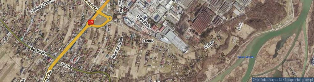 Zdjęcie satelitarne Wetlińska ul.