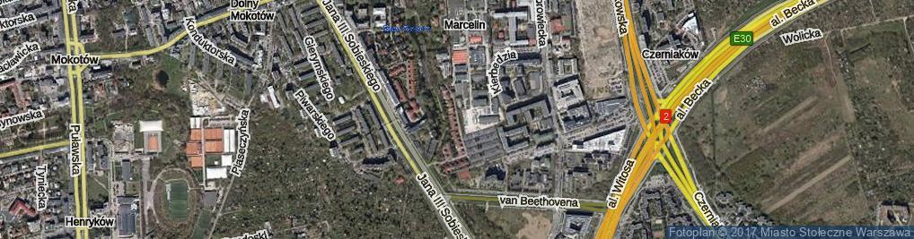 Zdjęcie satelitarne Węgrzyna Józefa ul.