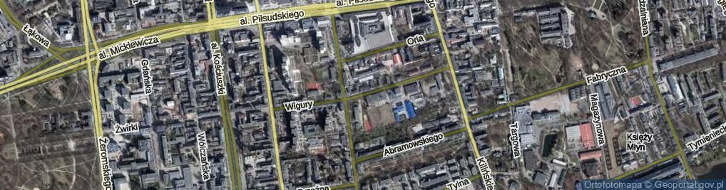 Zdjęcie satelitarne Wigury Stanisława, inż. pil. ul.